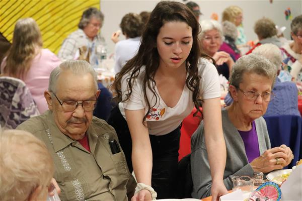 Annual Senior Citizen Thanksgiving Feast Hosted by APW